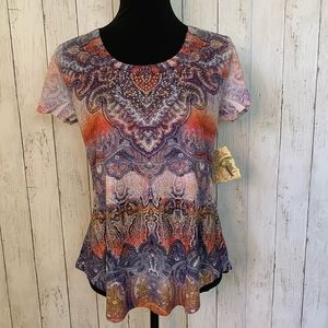 NWT One World Short Sleeve Shirt Small